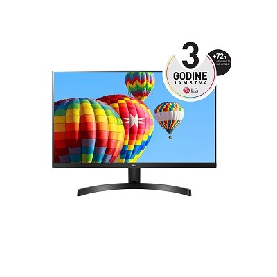 LG 27MK600M, LED 27'', IPS, Full HD, HDMI, D-Sub, FreeSync, 75Hz
