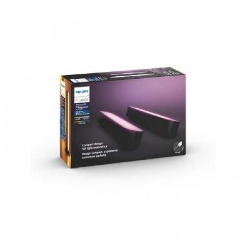 Philips HUE Play double pack, crni