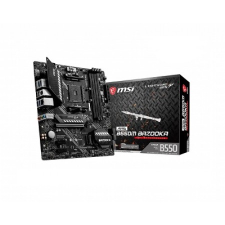 MSI B550M BAZOOKA, AMD B550, AM4, mATX