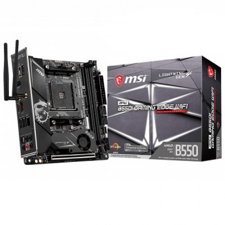 MSI B550I Gaming Edge WiFi, AM4, ITX