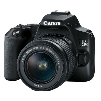Canon EOS 250D + 18-55mm III DC