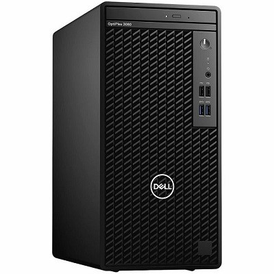 Dell OptiPlex 3080 MT, Intel Core i3-10100, RAM 8GB, SSD 256GB, VGA Intel Ultra HD, DVD-RW, tipkovnica, miš, Win10 Pro
