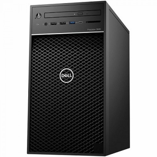 Dell Precision 3640 Tower, Intel Core i7-10700, RAM 8GB, SSD 256GB, HDD 1TB, VGA Intel Ultra HD, tipkovnica, miš, DVD-RW, Win10 Pro