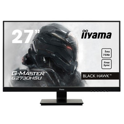 iiyama G-Master Black Hawk, LCD 27˝, VA, Full HD, USB 2.0, DP, HDMI, VGA, 75Hz