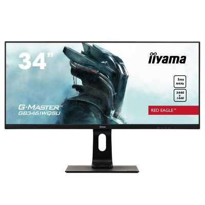iiyama G-Master Red Eagle, LED 34˝, IPS, UWQHD, USB 3.0, DP, HDMI, 144Hz