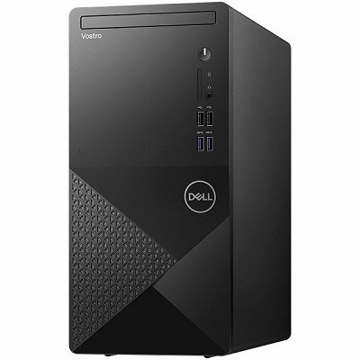 Dell Vostro Desktop 3888, Intel Core i5-10400, RAM 8GB, SSD 256GB, VGA Intel Ultra HD, DVD-RW, Win10 Pro