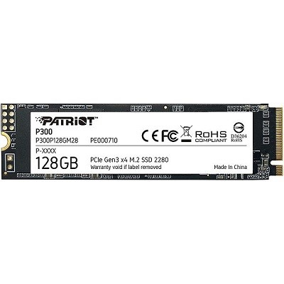 Patriot P300 128GB SSD, NVMe, M.2 2280