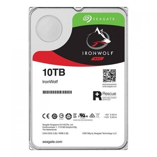 "Seagate Desktop Iron Wolf Guardian NAS, 3.5"", 10TB, 256MB, rpm 7200"