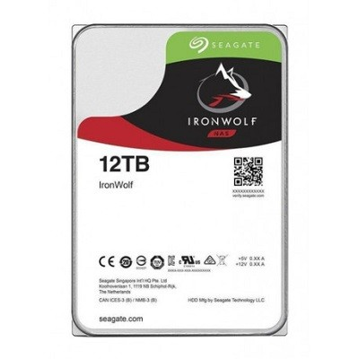 "Seagate Desktop Iron Wolf Guardian NAS, 3.5"", 12TB, 256MB, rpm 7200"