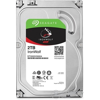 "Seagate Desktop Iron Wolf Guardian NAS, 3.5"", 2TB, 64MB, rpm 5900"