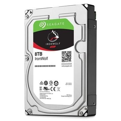 "Seagate Desktop Iron Wolf, 3.5"", 8TB, 256MB, rpm 7200"