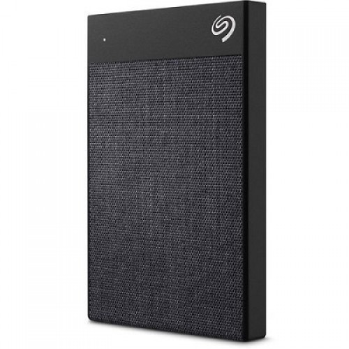 Seagate HDD External Backup Plus Ultra Touch, 2TB, 2.5'', USB 3.0, USB-C adapter, crni