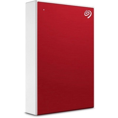 Seagate HDD External ONE TOUCH, 5TB, 2.5'', USB 3.0, crveni