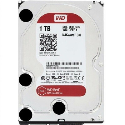 Western Digital NAS Red Plus, 3.5'', 1TB, 64MB, 5400 rpm