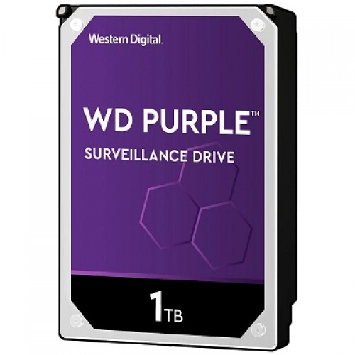Western Digital AV Purple, 3.5'', 1TB, 64MB, 5400 rpm