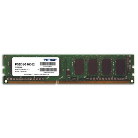Patriot Signature DDR3, 8GB, 1600MHz