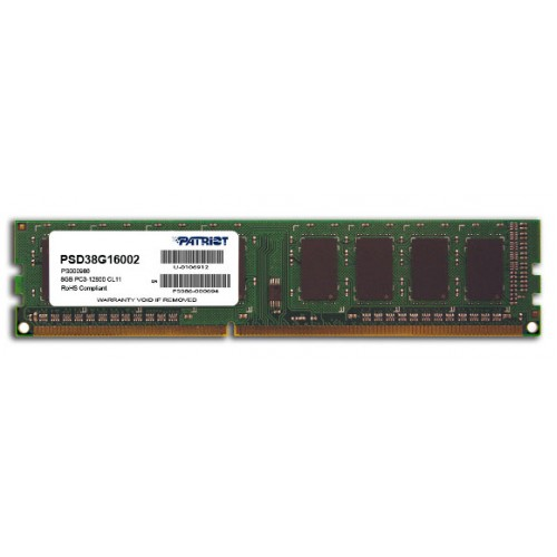 Patriot Signature DDR3, 1600Mhz, 8GB