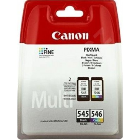 Canon tinta PG-545 + CL-546 multipack