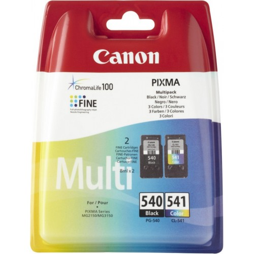 Canon tinta PG-540 + CL-541 multipack