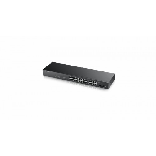 ZyXEL GS1900-24, 24-port+2SFP Gbit WebSm..