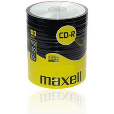 Maxell CD-R 52x, 700MB 100 kom shrink