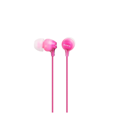 Sony EX15LPPI, in ear slušalice, roze