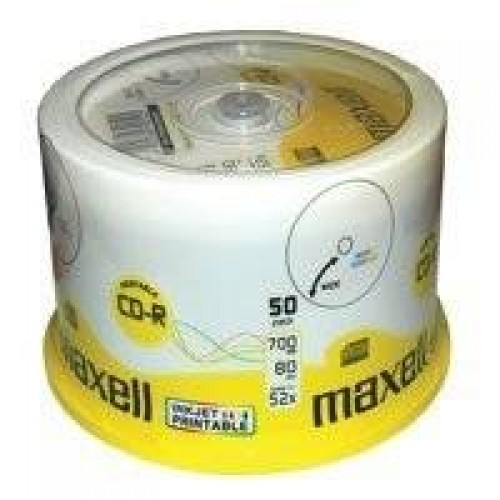 Maxell CD-R 52x, 700MB 50 kom spindle, p..