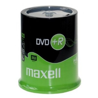 Maxell DVD+R 16x, 4.7GB 100 kom spindle