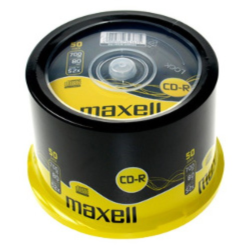 Maxell CD-R 52x, 700MB 50 kom spindle