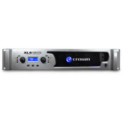 Crown XLS 1500 2-channel 525w power amplifier
