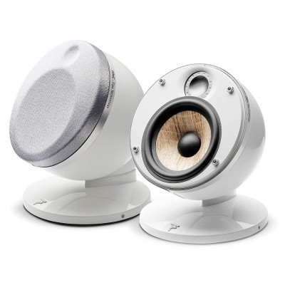 Focal Dome Flax speaker white