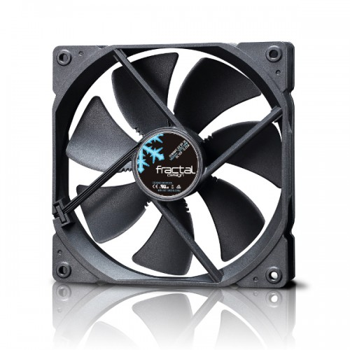Fractal Dynamic X2 GP-12, 120mm, crni ventilator
