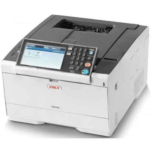 Oki C542dn, A4, 30ppm, PCL/PS, dup., Gig..