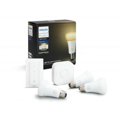 Philips HUE starter kit 3, E27, bijela, switch