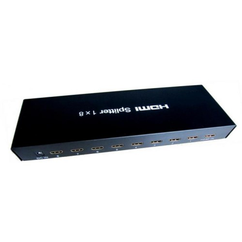 SBOX HDMI splitter, 8-port