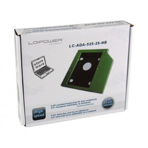 LC-Power ladica za notebook, SSD/HD..