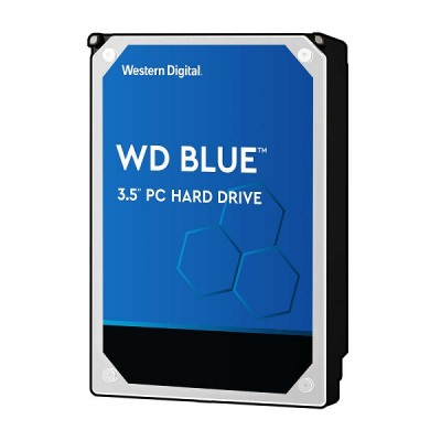 Western Digital Blue, 3.5'', 1TB, 64MB, 7200 rpm