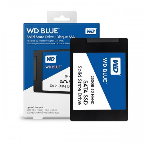 WD Blue 3D NAND SSD 250GB, 2,5