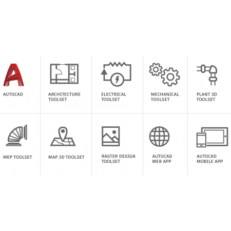 AutoDesk AutoCAD Including Specialized Toolsets single user