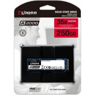 Kingston A1000 NVMe 250GB,R2000/W1100, M.2 2280