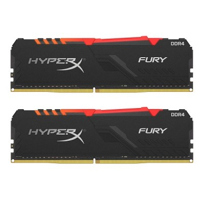 Kingston HyperX Fury RGB DDR4, 16GB (2x8GB), 3200MHz