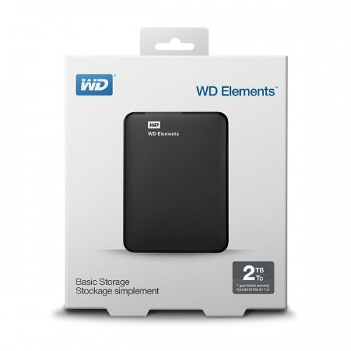 WD Elements 2TB Portable 2,5