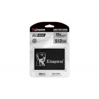 Kingston SSD KC600, R550/W520,512GB, 7mm, 2.5""