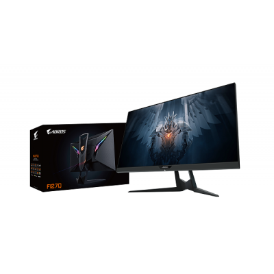 Aorus FI27Q-EK, LED, QHD, 27'', HDMI 2.0, DP, 165 Hz