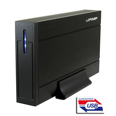 "LC-Power LC-35U3-Sirius, 3,5"", USB 3.0, Sata III"
