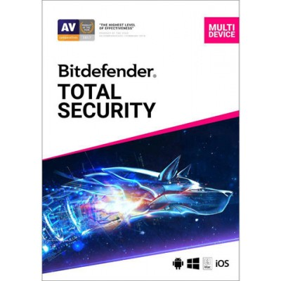 BitDefender Total Security 1 godina 10 korisnika Multi-Device