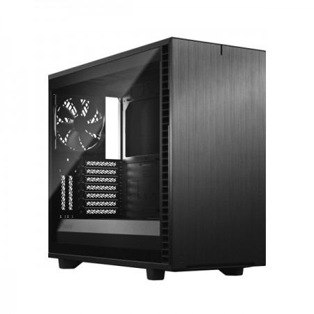 Fractal Define 7 Black TG Light, crno sa staklom, bez napaja..