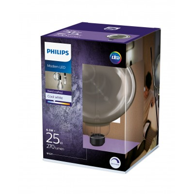 Philips LED žarulja, E27,G200,  smoky, 25W, 4000K
