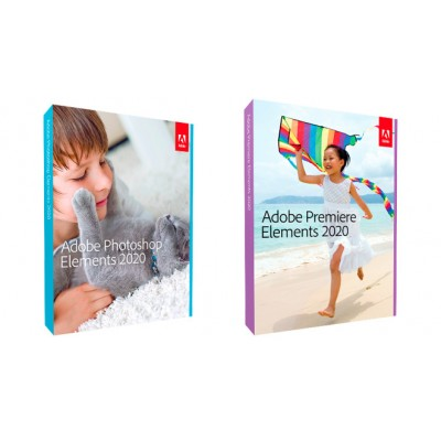 Adobe Photoshop i Premiere Elements WIN/MAC IE licenca