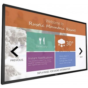 """Philips 43BDL4051T, 43"""" Multi-Touch Display, 60Hz"""